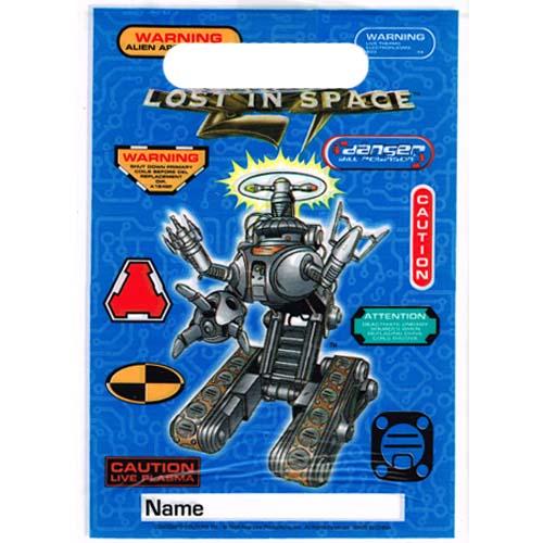Lost in Space Vintage 1998 Favor Bags (8ct)