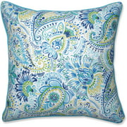 Pillow Perfect Outdoor Indoor Gilford Baltic 25 Floor Pillow
