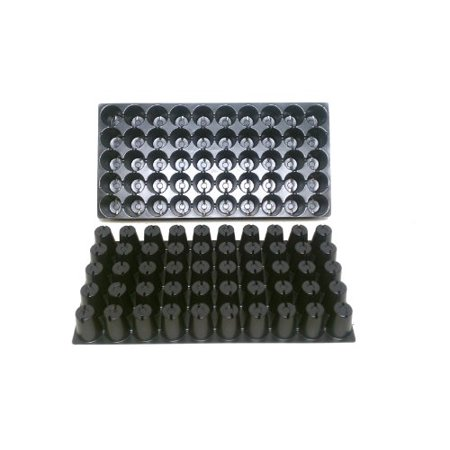25 Plastic Seed Starting Trays - Each Tray Has 50 Cells ~ Cells Are 1 7/8