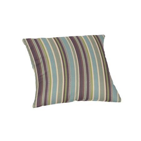 Sunbrella Square 18 in. Outdoor Throw Pillow - Brannon Whisper