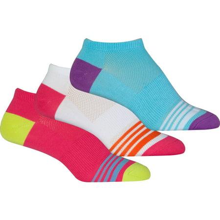 Danskin Ultra Soft NoShow Socks, 3-pack