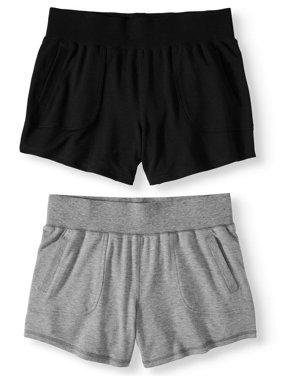 06fa2bb2c5cc Womens Activewear Shorts & Skirts - Walmart.com