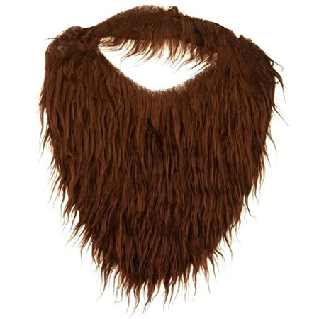 Child or Adult Sized Trimmable Beard & Mustache Combo Brown - Beard And Mustache Costume