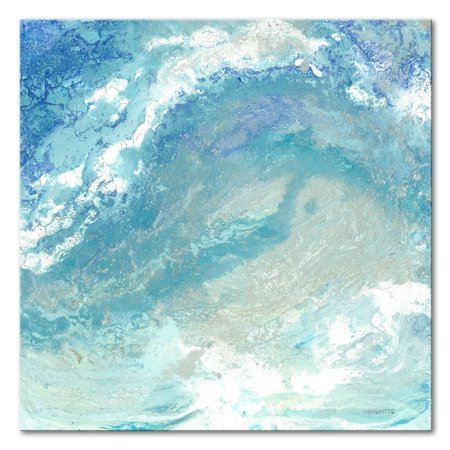 Norman Wyatt Home Oceans and Pearls 30 x 30 Gallery Wrapped Canvas by Norman Wyatt Home