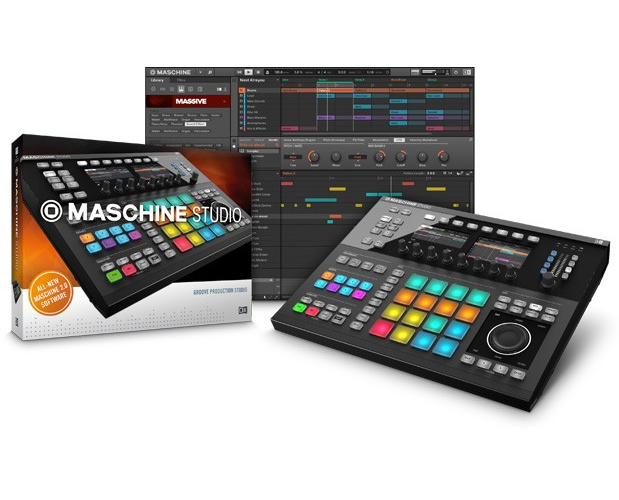 Native Instruments Maschine Studio in Black by Native Instruments