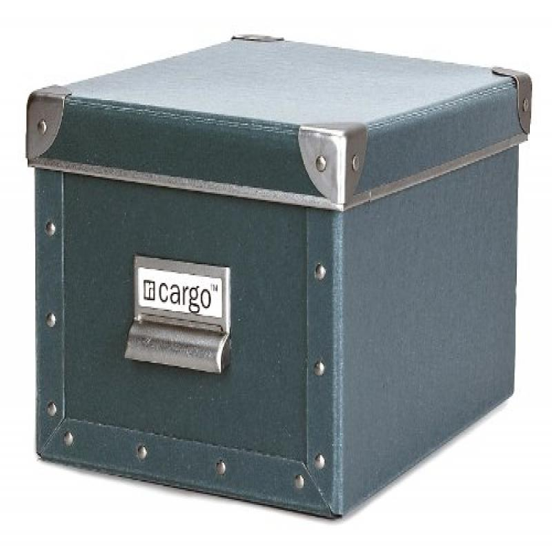Cargo Naturals Media Storage Box, Bluestone, 6 by 10-3/4 by 8-Inch