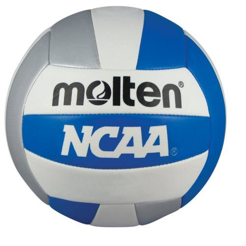 Molten NCAA Blue and Silver Camp Ball Recreation Volleyball
