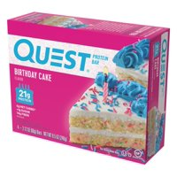 Quest Birthday Cake Protein Bar, 2.12 Oz., 4 Count