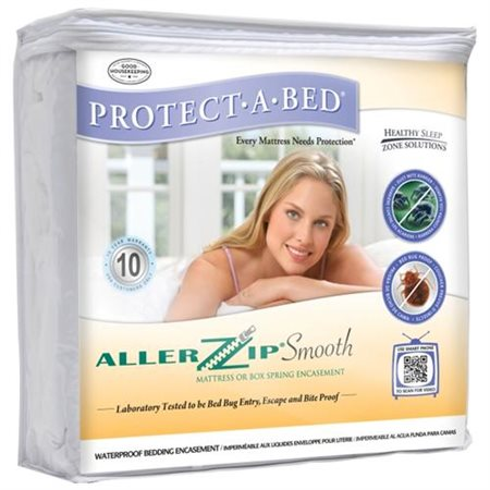 AllerZip Smooth King-size Bedbug-proof Mattress Protector