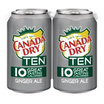 Soft Drinks: Canada Dry TEN Ginger Ale
