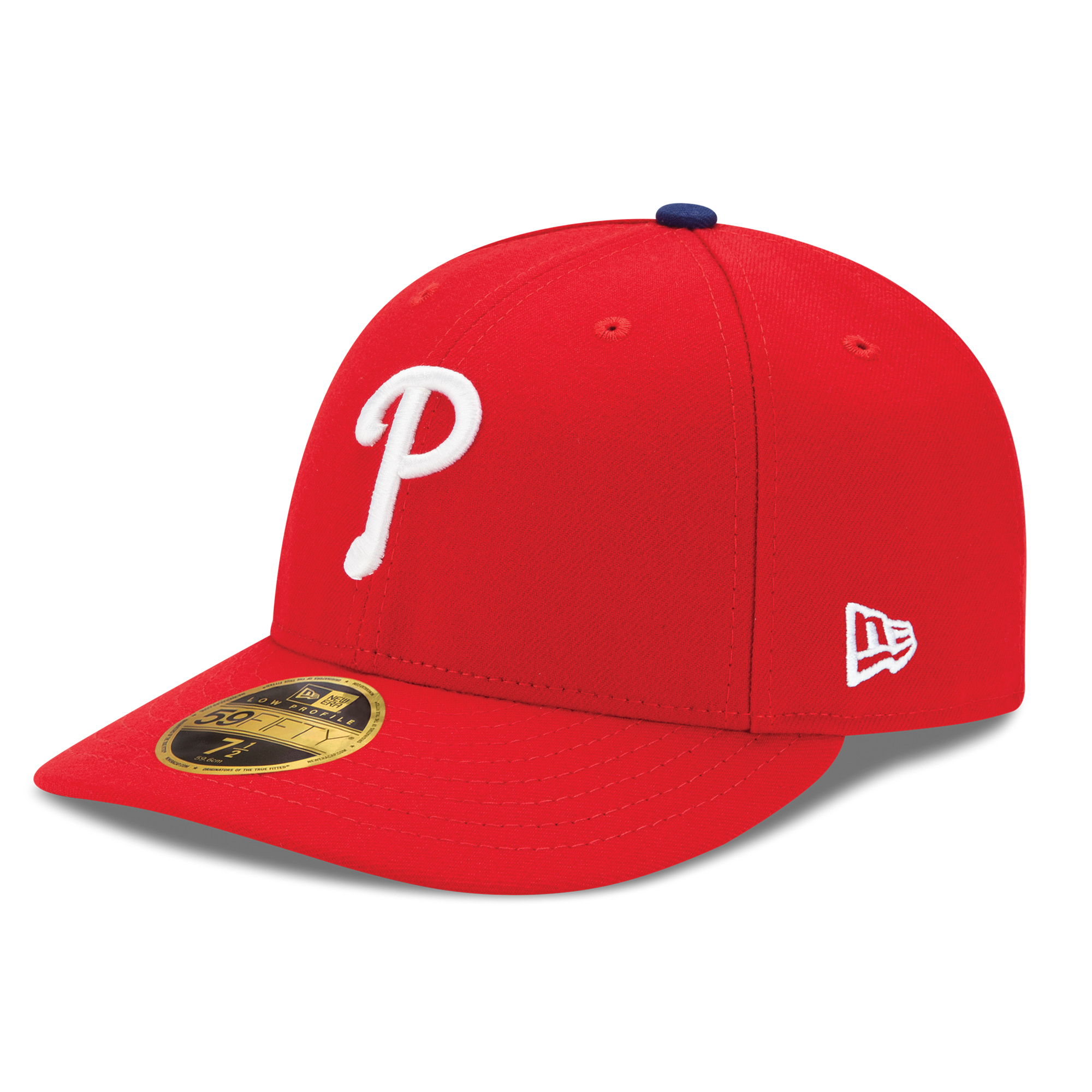 Philadelphia Phillies New Era Authentic Collection On Field Low Profile Game 59FIFTY Fitted Hat - Red