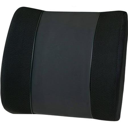 Relaxzen 60-2901 Lumbar Massage Cushion, Black