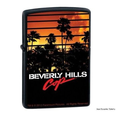Zippo Lighter   Beverly Hills Cop Black Matte