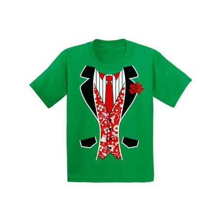 24ca5bb37 Awkward Styles Red Christmas Tuxedo Youth Shirt Tuxedo Ugly Christmas T  Shirt Christmas Costume Shirt for Kids Holiday Tshirt Kids Christmas Gifts  Funny ...