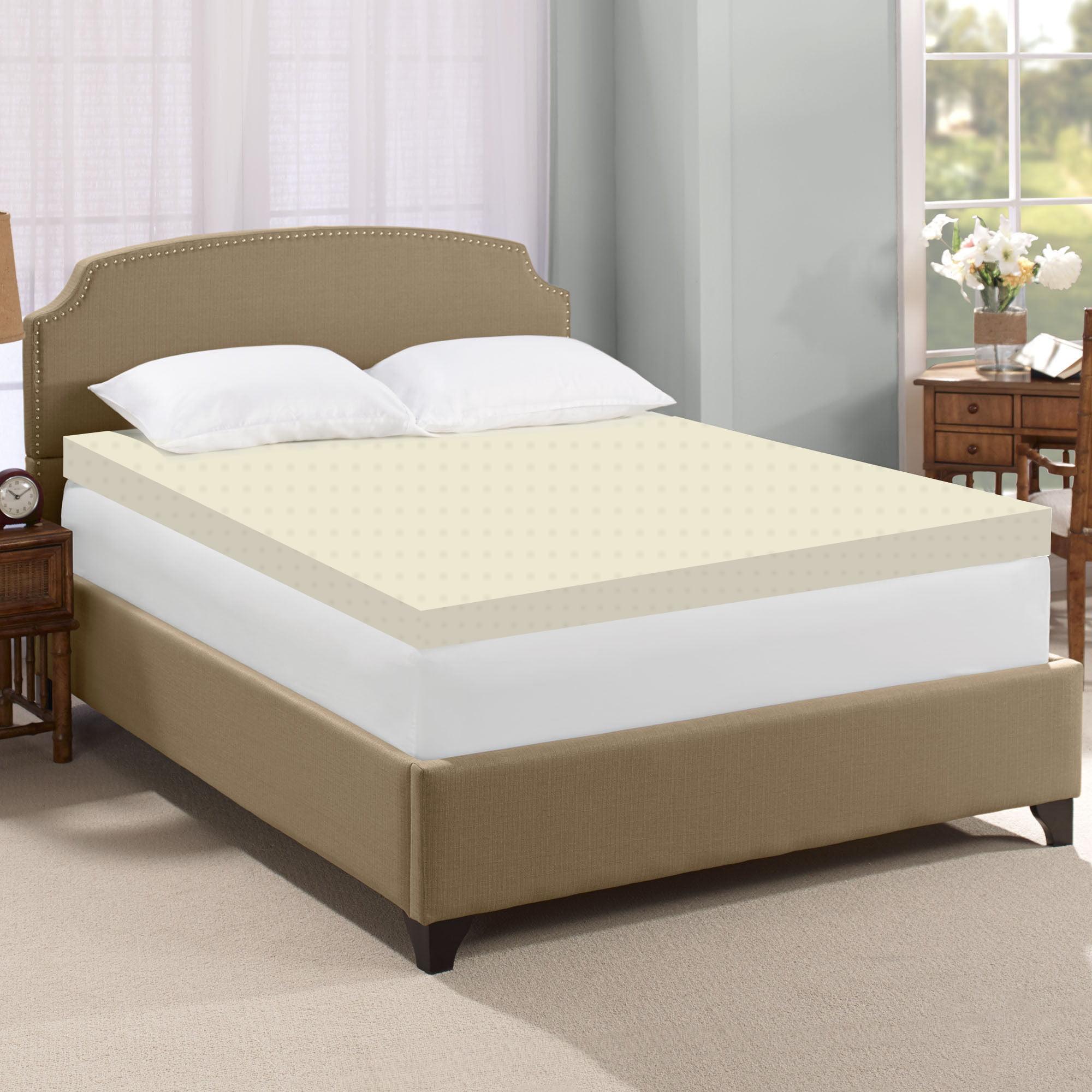 Continental Sleep 2 Quot High Density Foam Mattress Topper