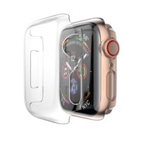 Product Image For Apple Watch Series 4 44mm Case, Full Cover Protector Crystal Clear Snap On Cover