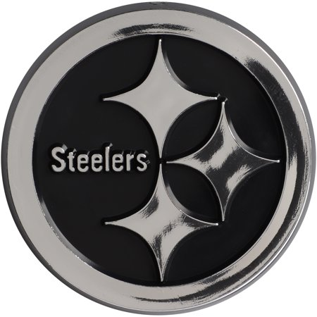 Pittsburgh Steelers Auto Emblem - No Size - Steelers Stickers