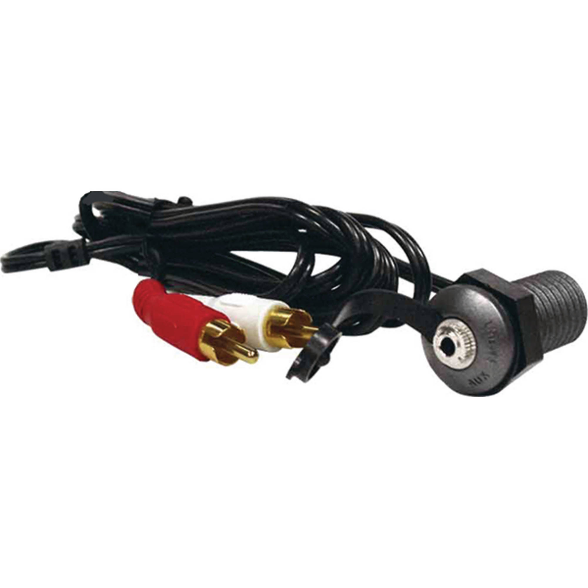 Jensen jPortG Auxiliary Audio Marine Stereo Input Jack with 9' RCA Cable