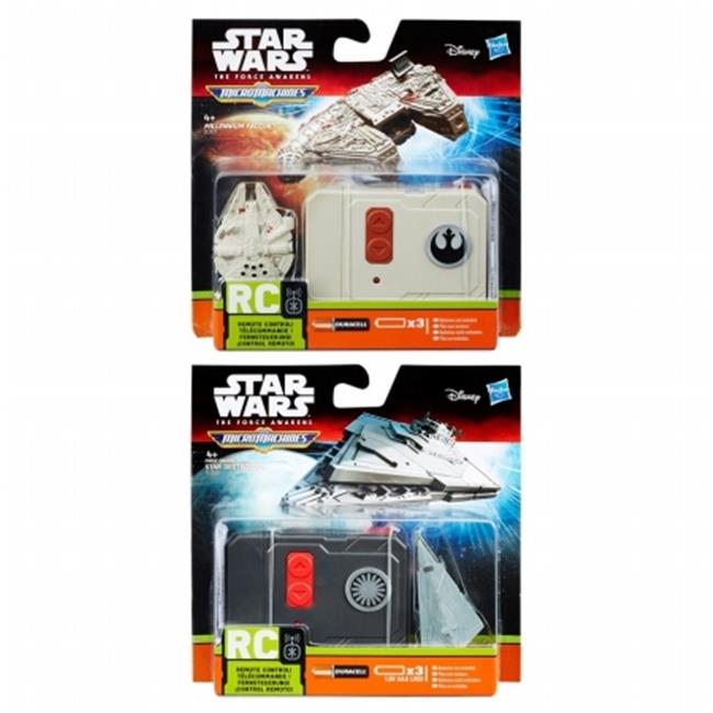 Hasbro HSBB3726 Star Wars Episode 7 Micro Machines RC Vehicle Assorted , Pack of 6 by