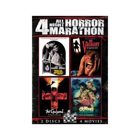 All Night Horror Movie Marathon Volume 1 (DVD)](Halloween Horror Nights 2017 Hours)