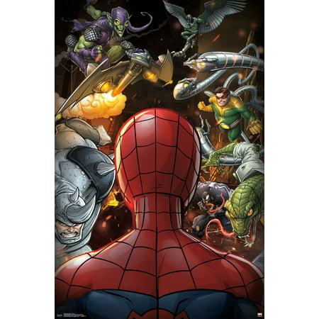 Trends International Spider-Man Villains Wall Poster 22.375