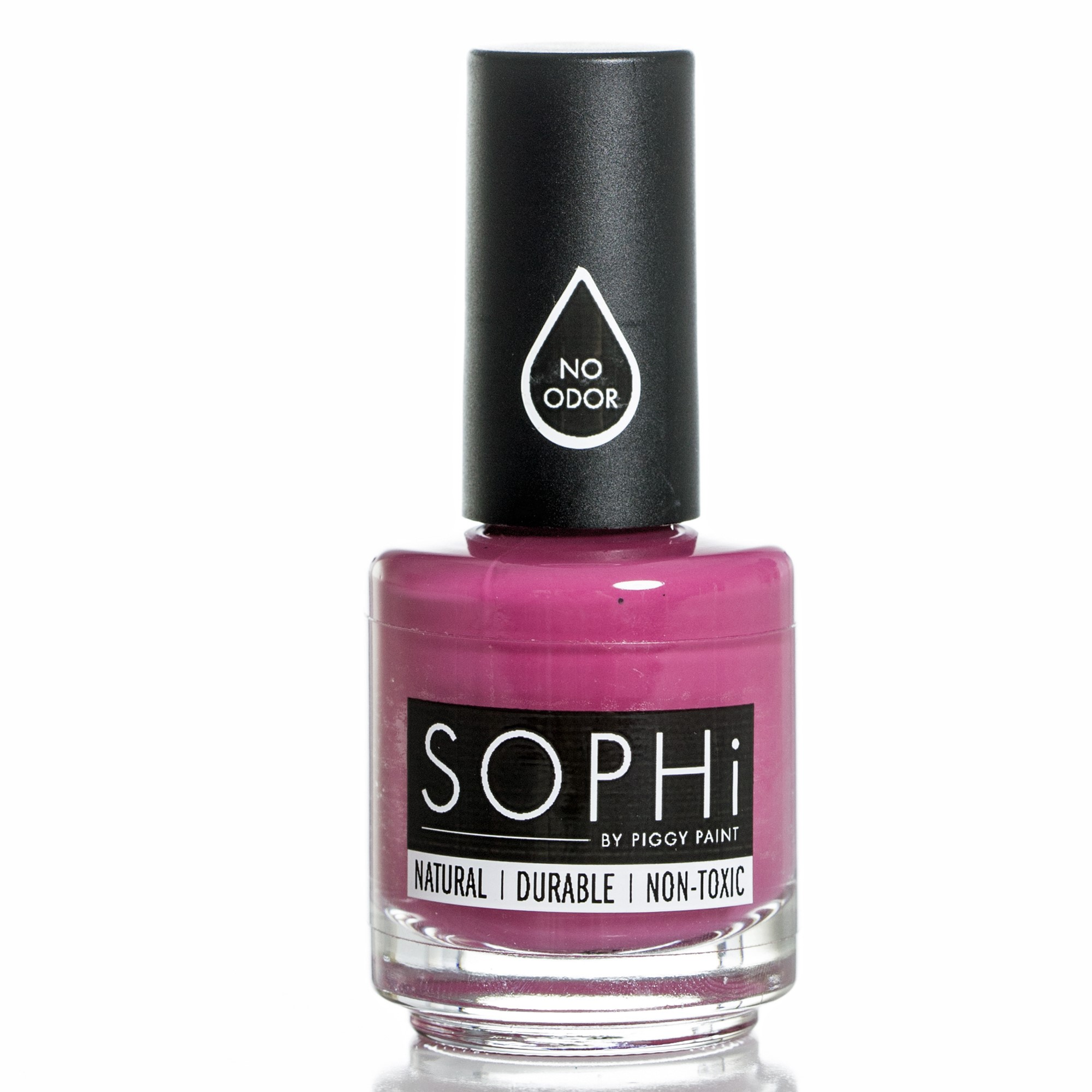 SOPHi Nail Polish, PLUM-P Up the Volume, Non Toxic, Safe, Free of All Harsh Chemicals - 0.5 oz