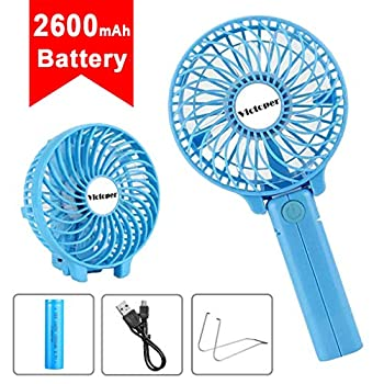 Personal Handheld Fan Fragrance Small Portable Cooling Fan Retractable 3 Speeds