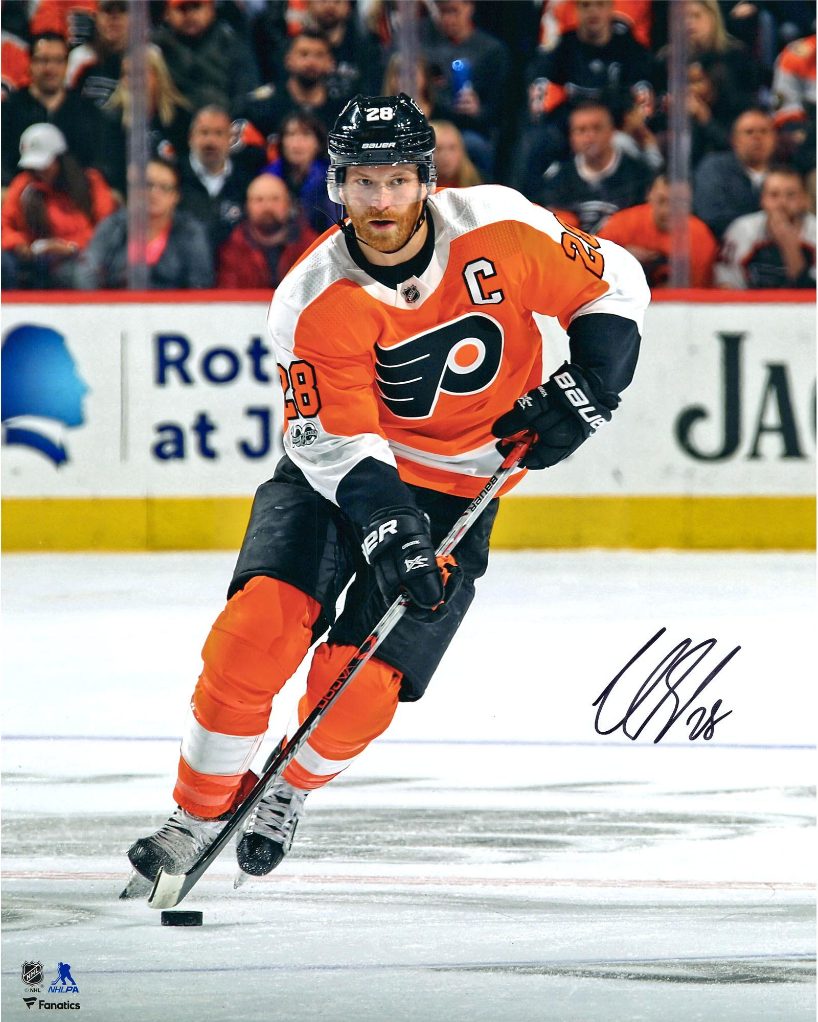 "Claude Giroux Philadelphia Flyers Autographed 16"" x 20"" Vertical Skating Photograph Fanatics Authentic... by Fanatics Authentic"