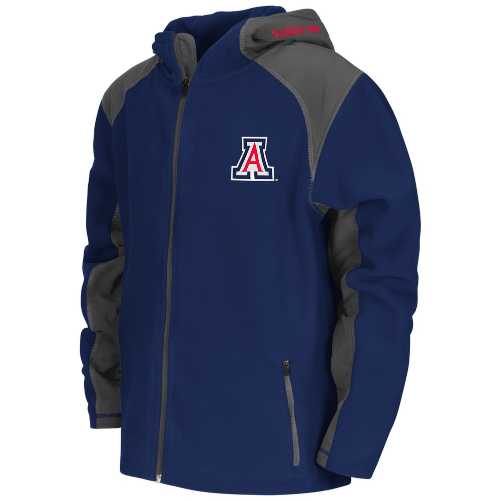 Arizona Wildcats Youth Jacket Halfpipe Hooded Fleece