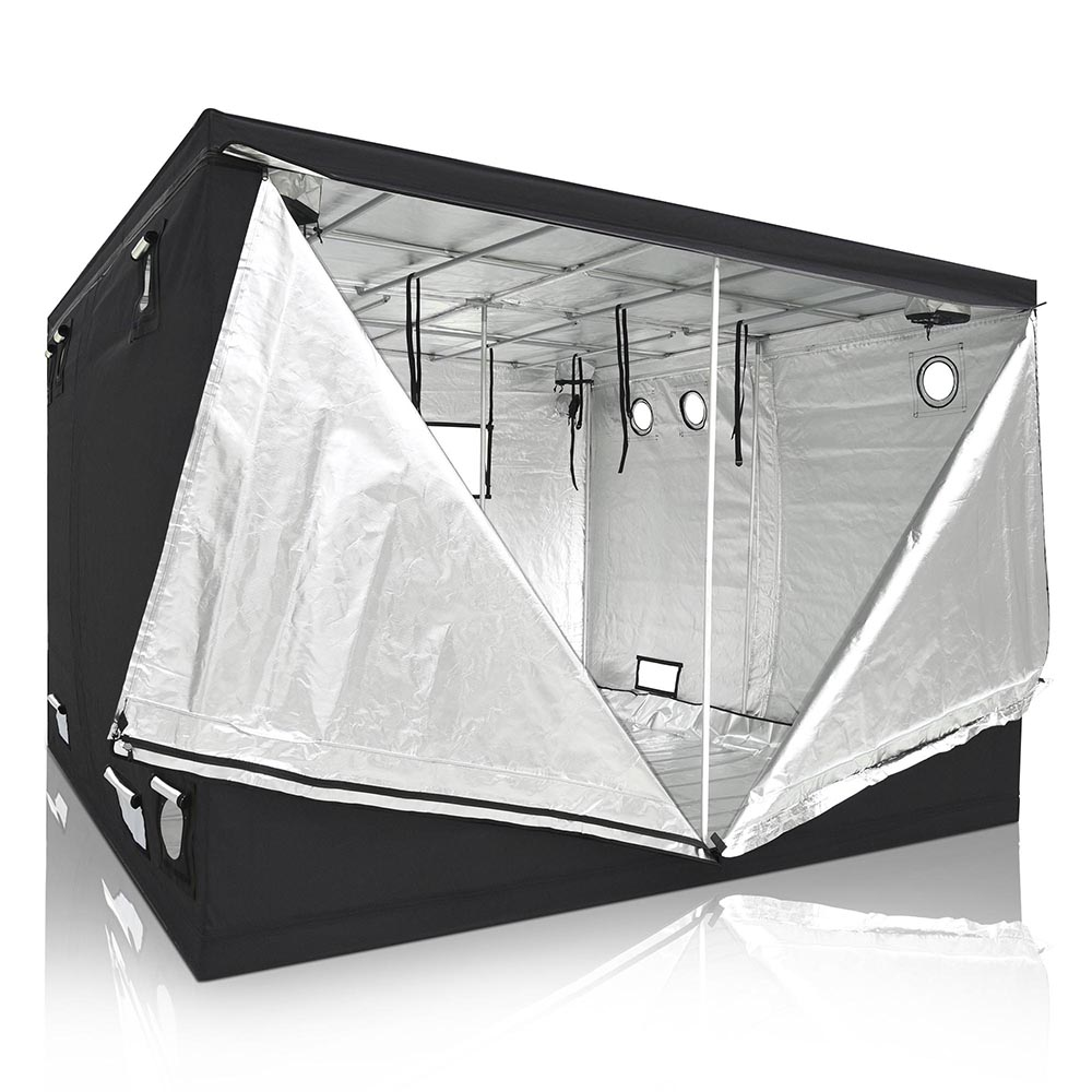 Hydroponics Premium Grow Tent Mylar Indoor Bud Box Dark 120 x 120 x 200cm