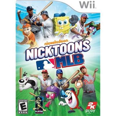 Refurbished Nicktoons MLB - Nintendo Wii