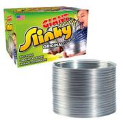 The Original Giant Slinky Walking Spring Toy, Big Metal Slinky, Ages 5 +