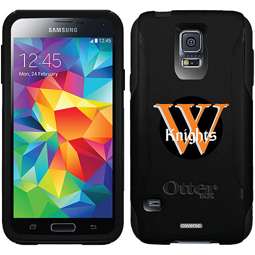 Wartburg Primary Mark Black Design on OtterBox Commuter Series Case for Samsung Galaxy S5