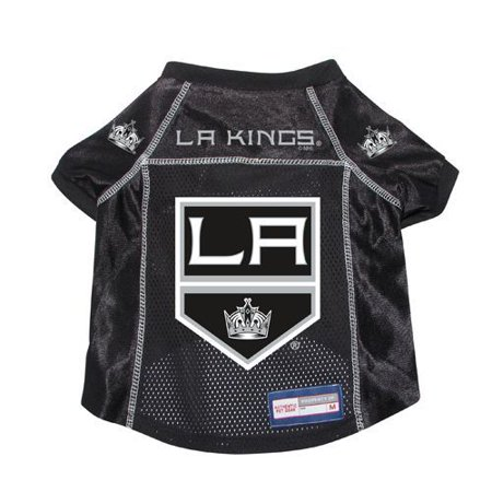 Los Angeles Kings Dog Pet Premium Hockey Jersey Large