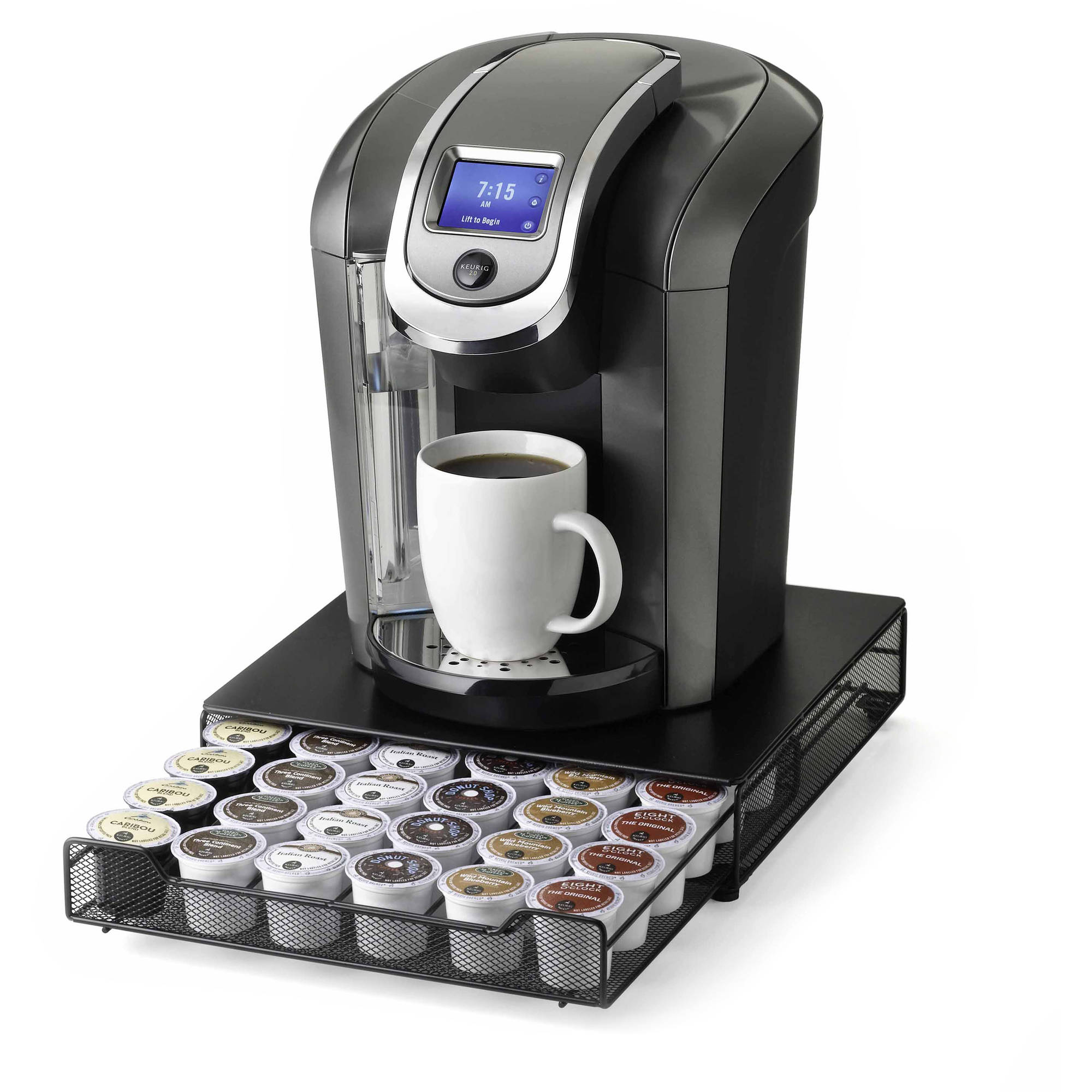 Nifty Keurig Approved Rolling K Cup Drawer   Walmart.com