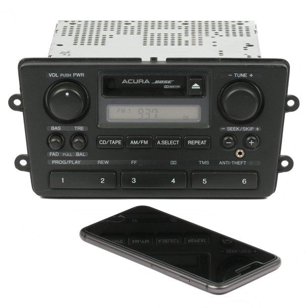 Acura 1999-2003 RL Radio AM FM Cassette W Auxiliary