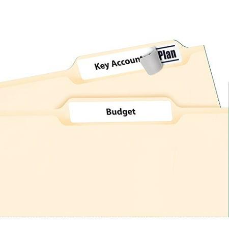 Averyr White File Folder Labels For Laser And Inkjet Printers 5366