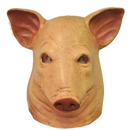 Morris Costumes Halloween Party Fashion Holiday Apparel Outfit Blood Pig Latex (Foam Latex Halloween Costumes)