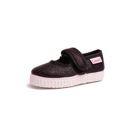 Cienta Girls' Mary Jane Sneaker