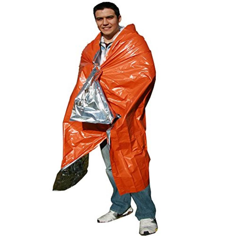 ThermaSave Emergency Reflective Blanket, Emergency Zone Brand, Survival Heat Sheet