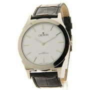 CN307464SSDW Mens Black Leather Slim Casual Watch