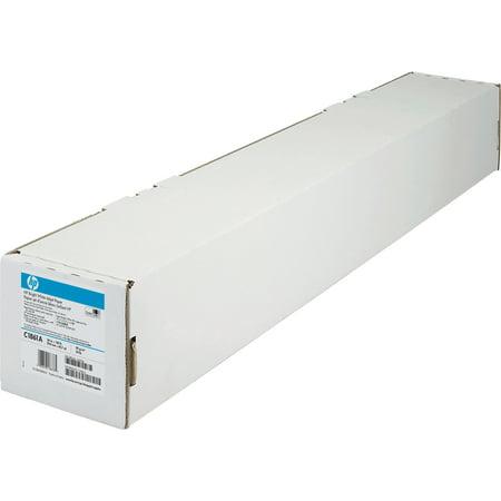 HP, HEWC1861A, Bright White Inkjet Bond Paper, 1 Roll, White (Long Bond Paper)