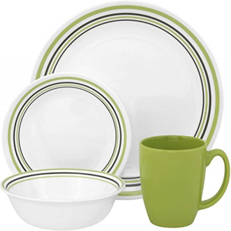 Corelle Livingware Garden Sketch 16 Piece Dinnerware Set