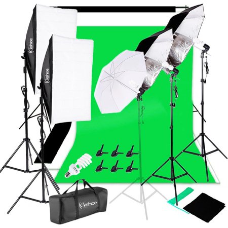 Ktaxon Photography Video Studio Lighting Kit - Included 3x33
