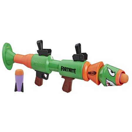 Nerf Fortnite RL Blaster with 2 Official Nerf Fortnite Rockets