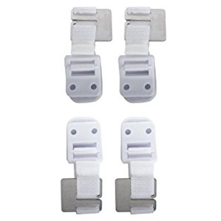 Safety 1st Furniture Wall Straps 4 Pack Walmart Com