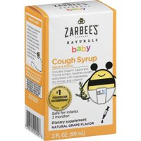 Zarbee's Baby Cough Syrup - Grape 2 fl oz Liquid