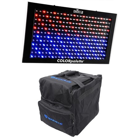 Chauvet DJ ColorPalette Panel Stage Wash Light, DMX Controls+Bag Color - Dmx Stage Wash