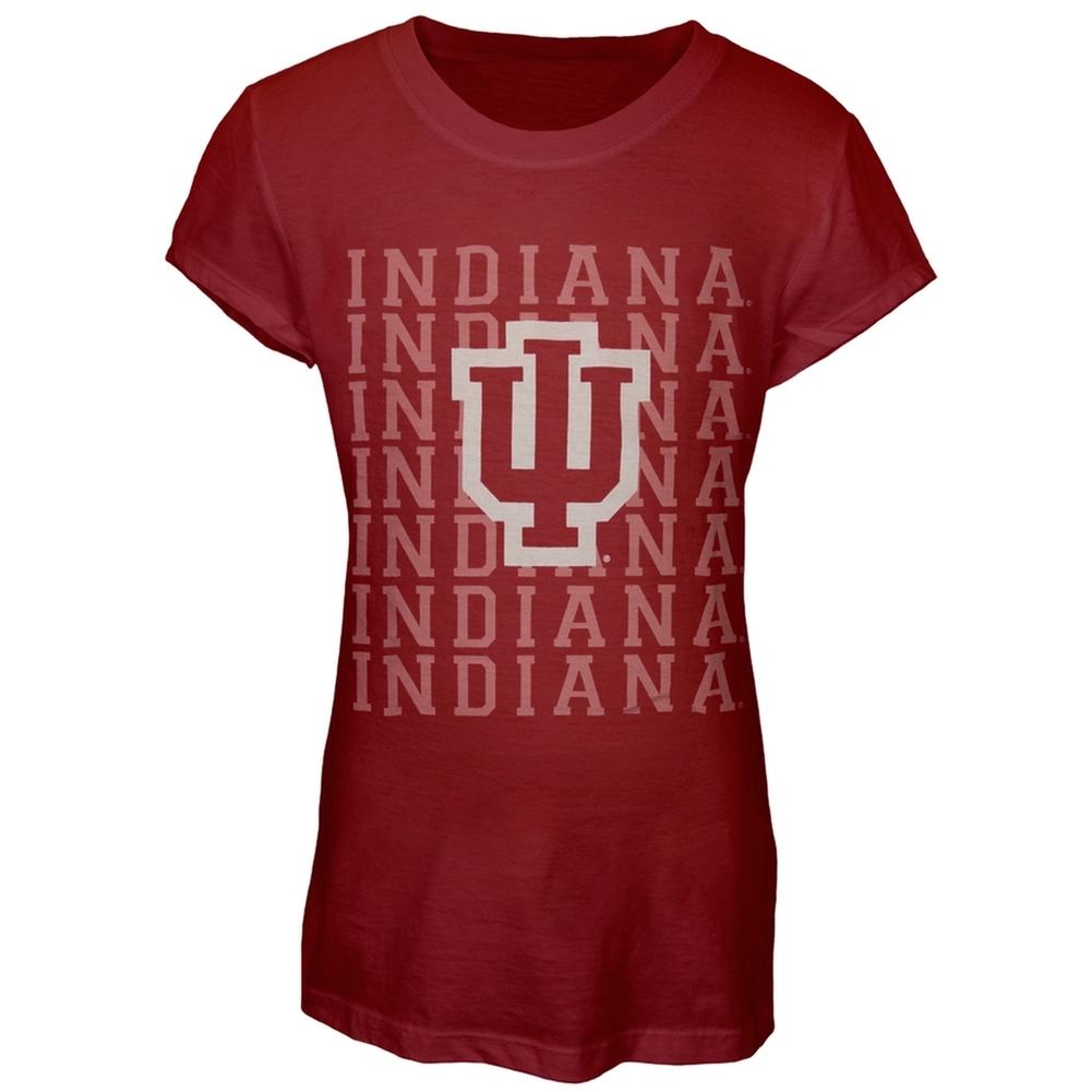 Indiana Hoosiers - Team & Logo Girls Juvy T-Shirt