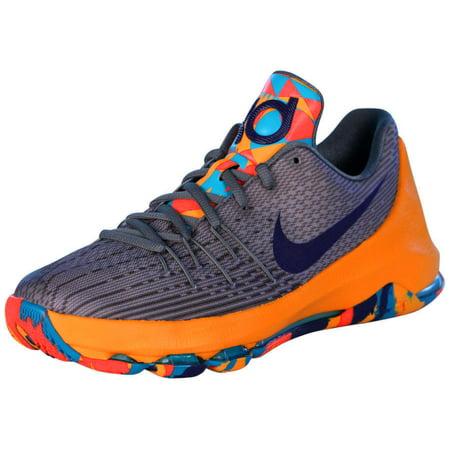 5d3c44727521 Nike - Nike Kids KD 8 Fashion Sneakers-Wolf Grey Court Purple Cool ...